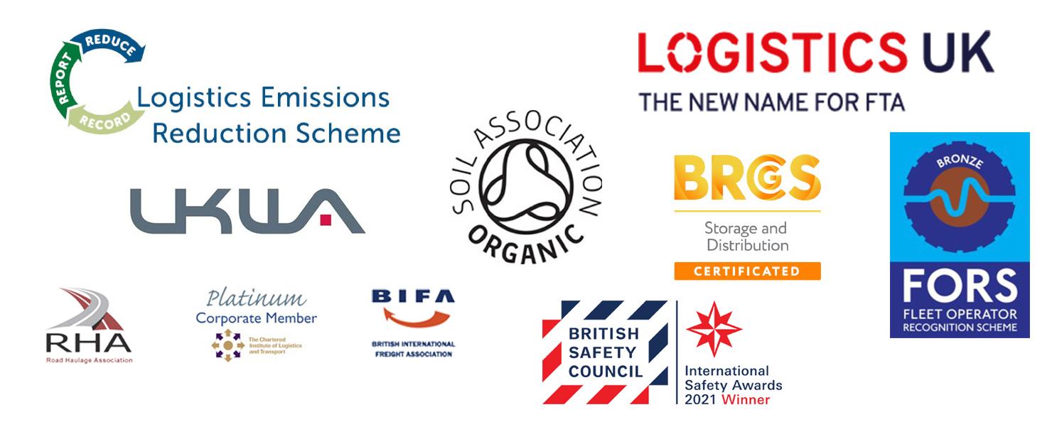 Logistics associations and memberships logos