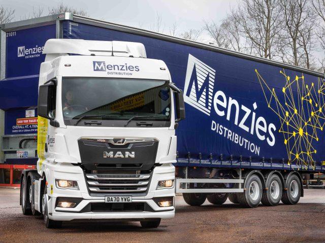 Menzies Distribution logistics vehicle